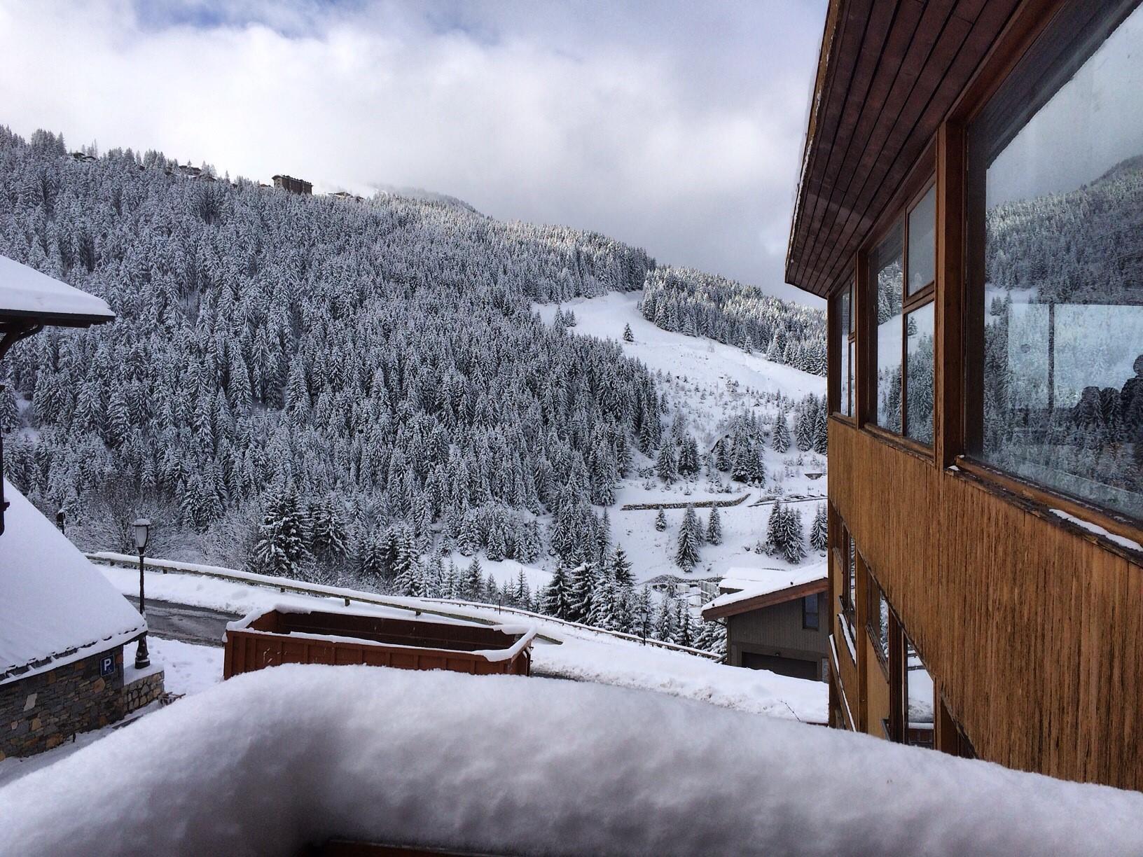 La neige en abondance à Courchevel!
