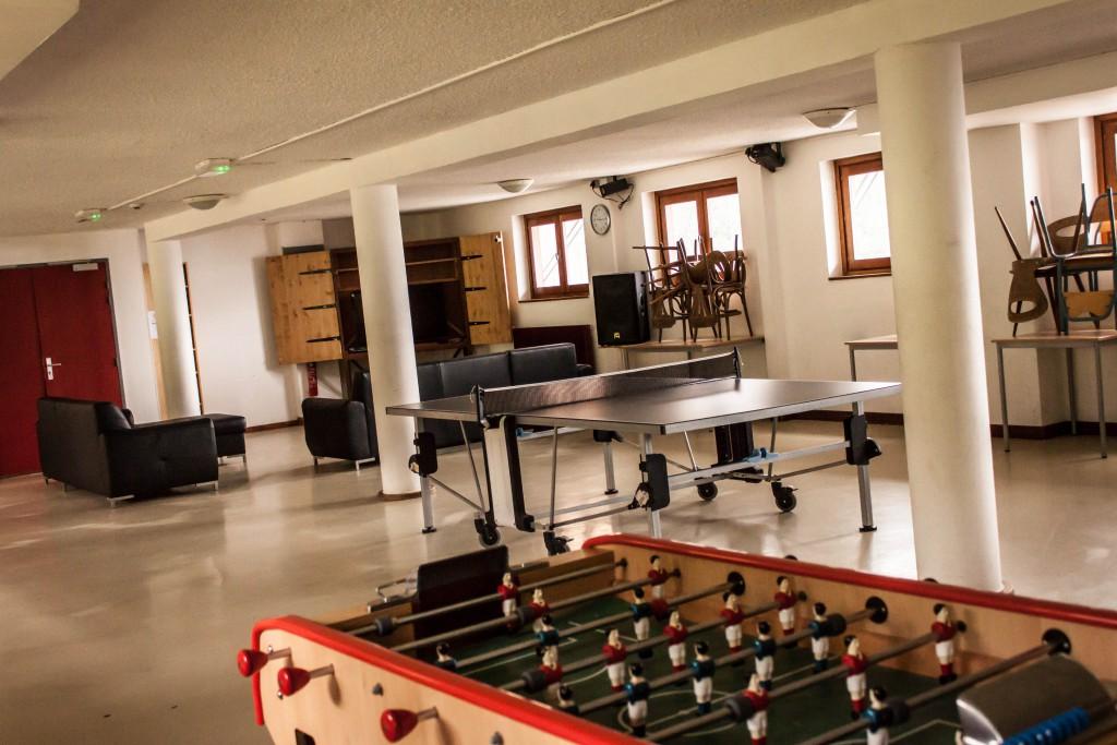 Salle détente du Chalet Sainte Marie