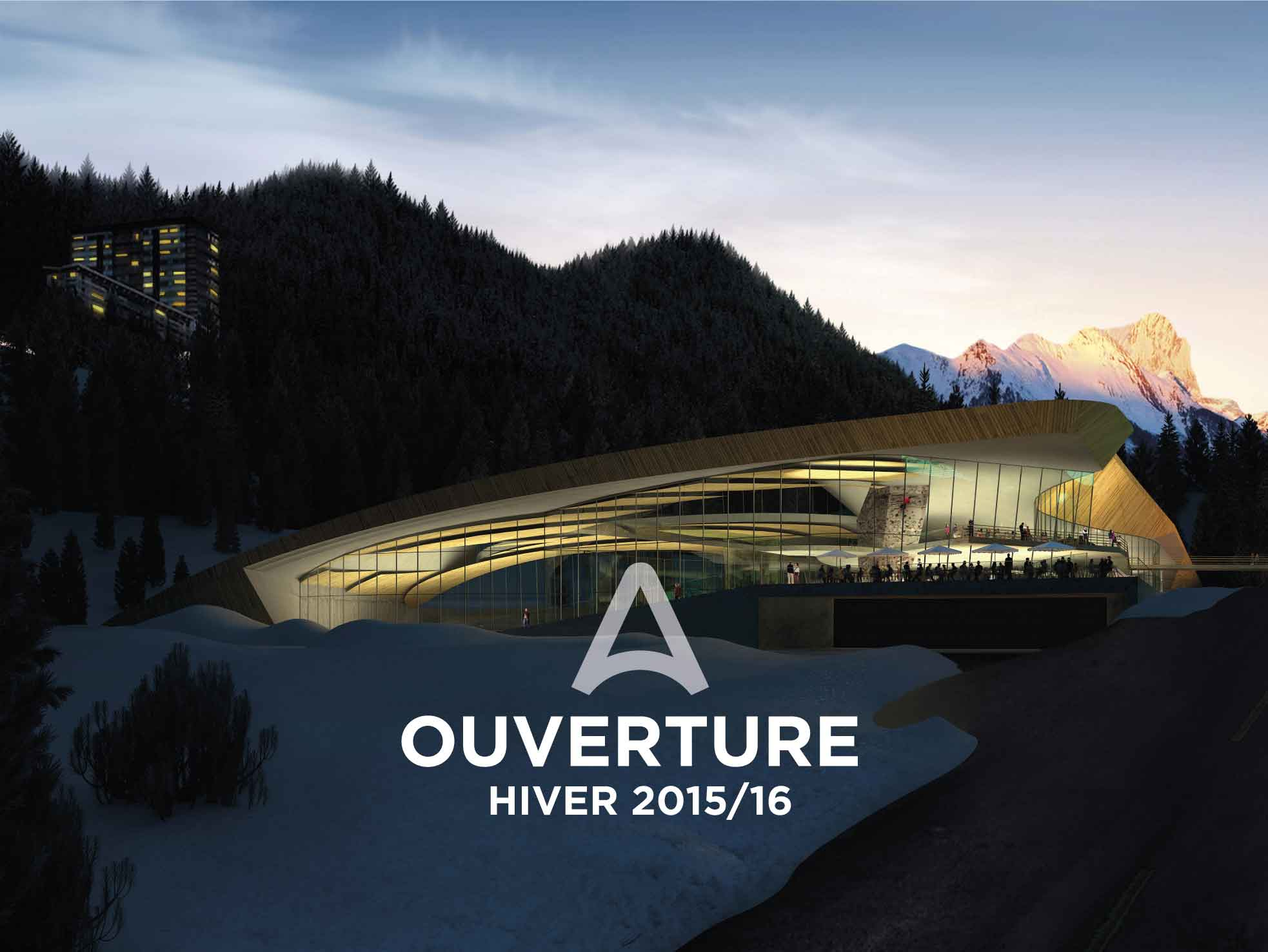Aquamotion : le nouveau-né de la station Courchevel !