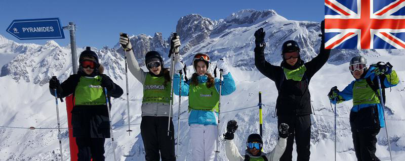 Skier en apprenant l'anglais : c'est possible!