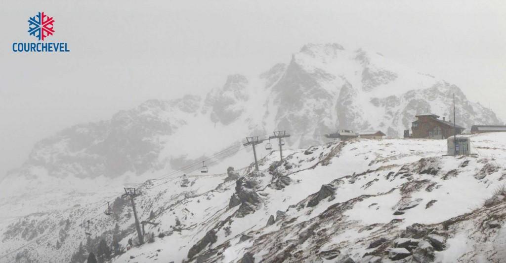 Premières neiges sur les pistes